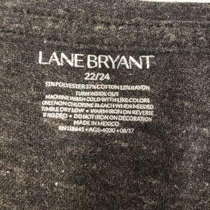 Lane Bryant Tops - Lane Bryant Gray Graphic Tee, Size 22/24 3X